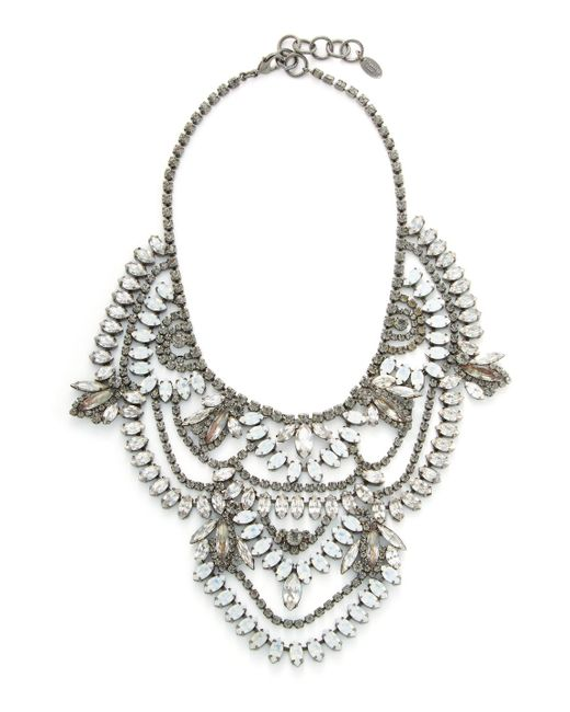 Elizabeth Cole - Multicolor Stephanie Necklace - Lyst