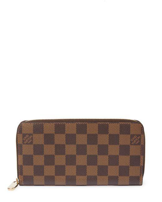 Louis Vuitton - Brown Vintage Damier Ebene Zippy - Lyst