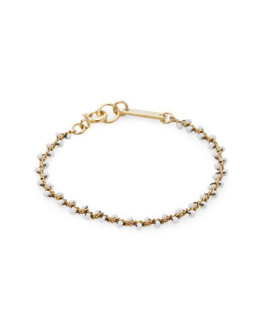 Isabel Marant - White Bracelet - Lyst