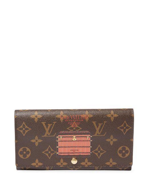 Louis Vuitton - Brown Vintage Orange Illustre Ab Sarah Wallet - Lyst