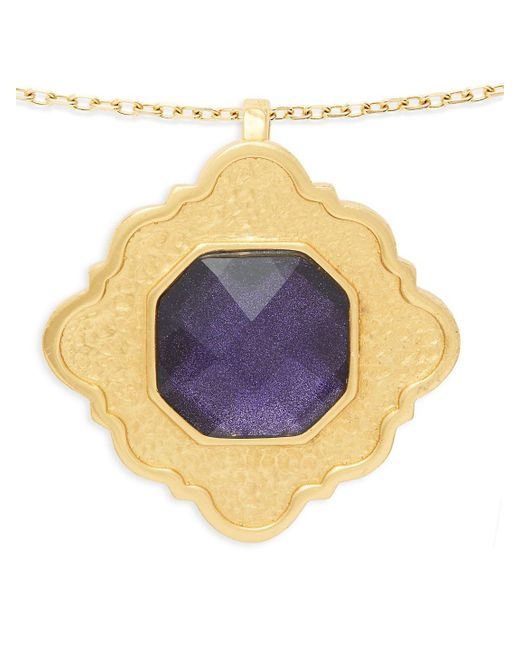 Stephanie Kantis - Metallic Ventana Light Amethyst Pendant - Lyst