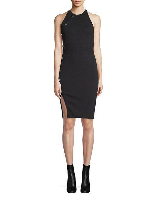 Ronny Kobo - Black Gina Sleeveless Dress - Lyst