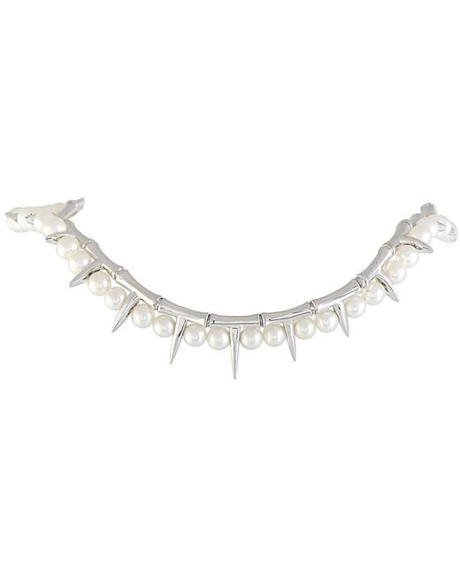 Stephen Webster - Metallic Silver Pearl Necklace - Lyst