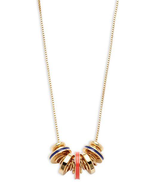 Trina Turk - Metallic Goldtone Multi-disc Necklace - Lyst