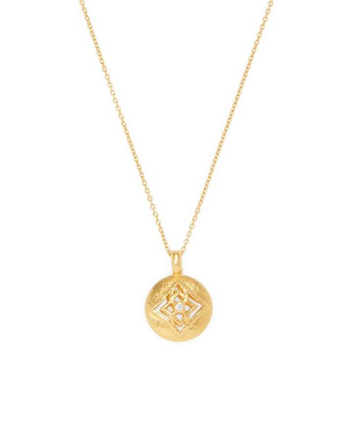 Gurhan - Metallic Topkapi Diamond, 18k Yellow Gold & 22k Yellow Gold Pendant Necklace - Lyst