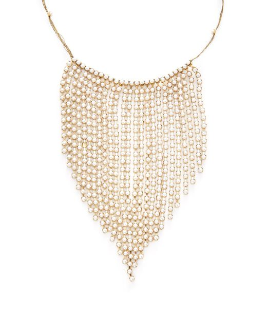 Marc Jacobs   Metallic Pearl River Statement Necklace   Lyst