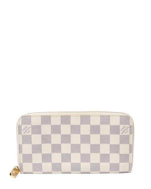 Louis Vuitton - White Vintage Damier Azur Ab Zippy - Lyst