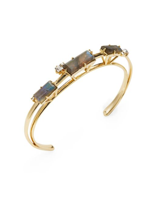 Alexis Bittar | Multicolor Elements Orbit Cuff Bracelet | Lyst