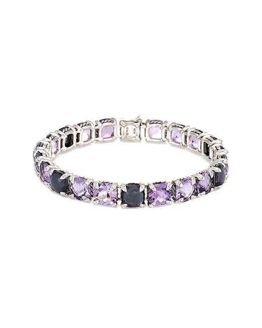 David Yurman - Metallic David Yurman Chatelaine Silver 0.55 Ct. Tw. Diamond & Gemstone Bracelet - Lyst