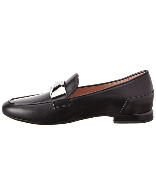 61908e3d48c1 Lyst - Taryn Rose Elena Leather Loafer in Black - Save 45%