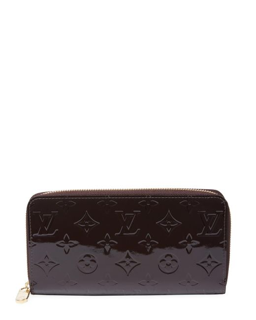 Louis Vuitton - Multicolor Vintage Purple Vernis Zippy - Lyst