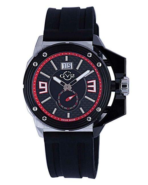 Gv2 - Black Grande Stainless Steel Watch, 42mm for Men - Lyst