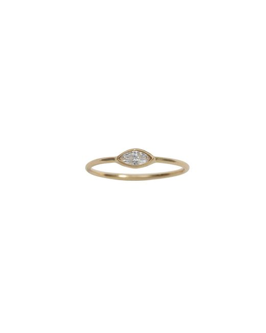 Ariel Gordon - Multicolor Marquis Diamond Ring - Size 5 - Lyst