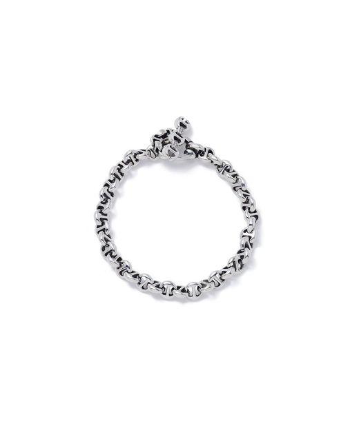 Hoorsenbuhs - Metallic Open-link Sterling Silver Bracelet - Lyst