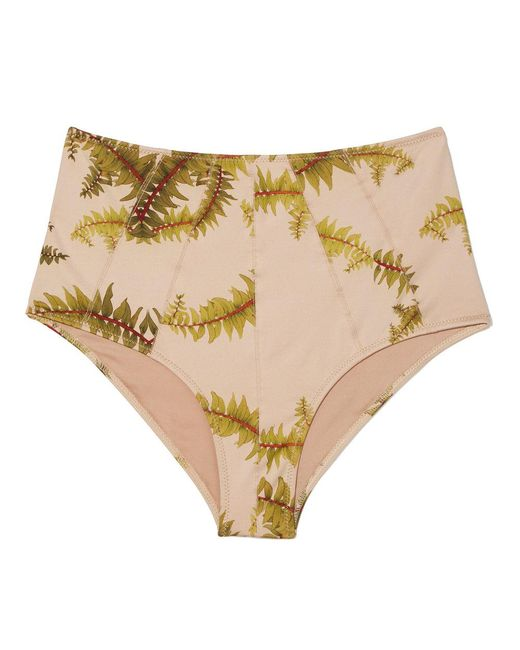 Cali Dreaming - Multicolor Seamed Phoenix High-waist Bottom - Lyst