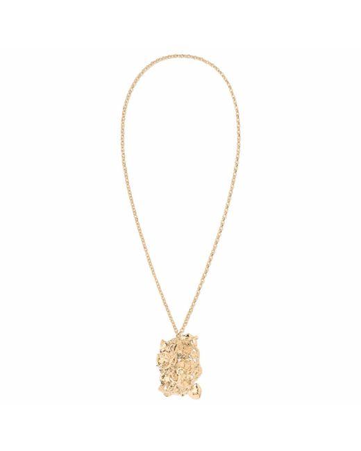 Aurelie Bidermann | Metallic 18-karat Gold Turquoise Necklace | Lyst