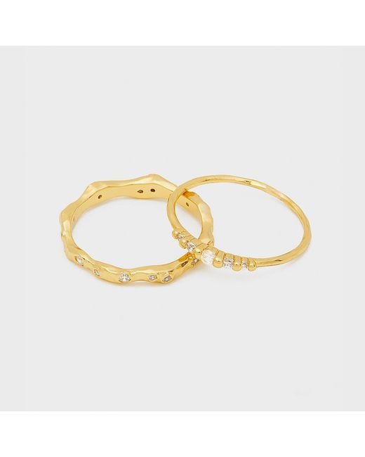 Gorjana - Metallic Collette Ring Set - Lyst