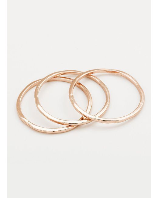 Gorjana & Griffin - Pink G Ring Set - Lyst
