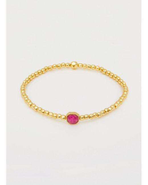 Gorjana & Griffin - Metallic Power Gemstone Charm Bracelet For Dream - Lyst