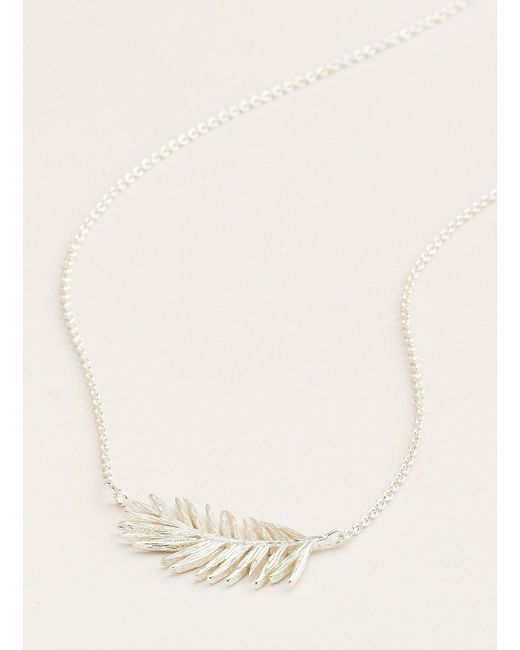 Gorjana & Griffin - Metallic Palm Adjustable Necklace - Lyst