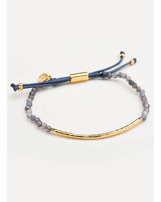 Gorjana & Griffin - Metallic Power Gemstone Iolite Bracelet For Focus - Lyst