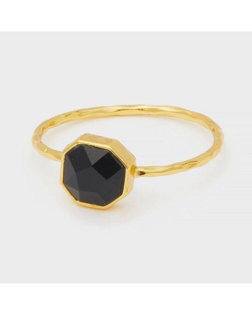 Gorjana - Metallic Power Gemstone Charm Ring For Protection - Lyst