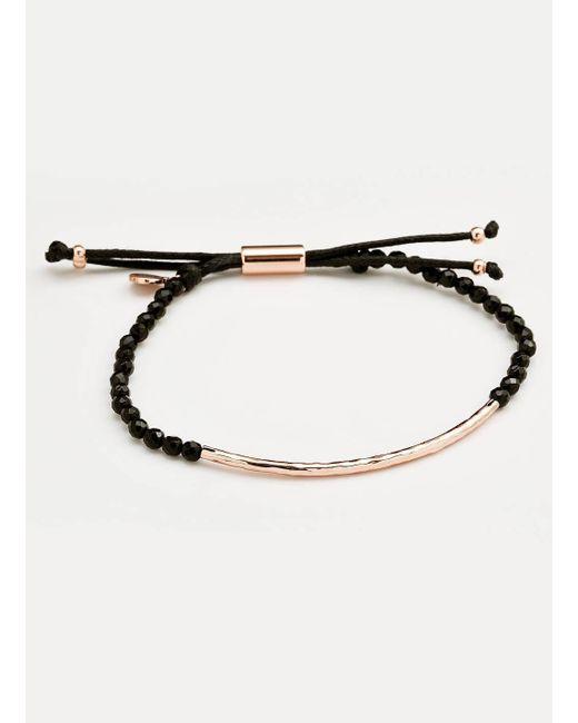 Gorjana & Griffin - Multicolor Power Gemstone Black Onyx Bracelet For Protection - Lyst