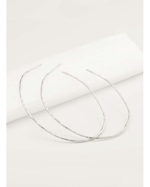 Gorjana & Griffin - Metallic Harbour Oval Hoops - Lyst
