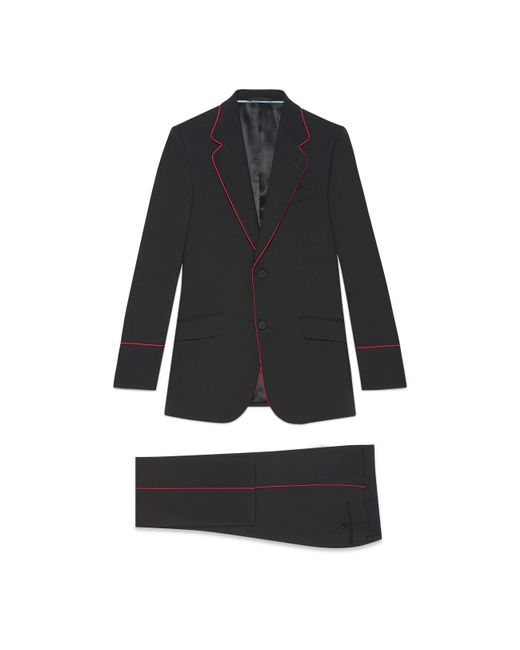 Gucci - Black Heritage Tuxedo With Piping for Men - Lyst