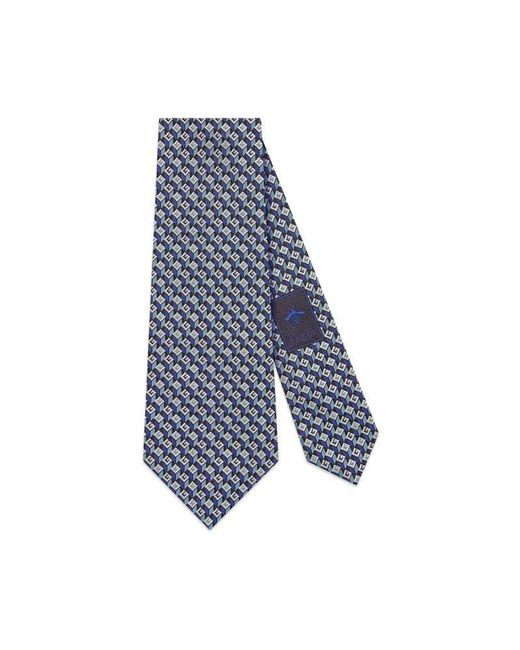 Gucci - Blue 3-d G Silk Tie for Men - Lyst