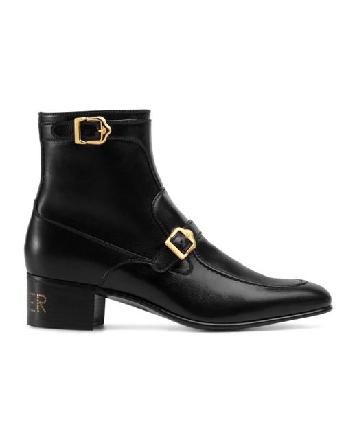 Gucci Black Ebal Boots for men