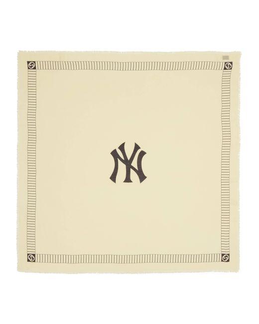 Gucci - White Châle à imprimé NY YankeesTM for Men - Lyst