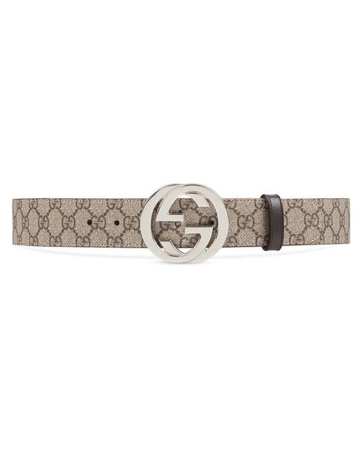 Gucci | Multicolor Gg Supreme Belt With G Buckle | Lyst