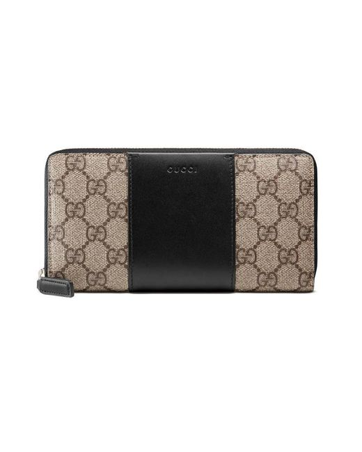 2cbc769eeab7 Gucci Gg Supreme Round Zip Wallet 506279 | Stanford Center for ...