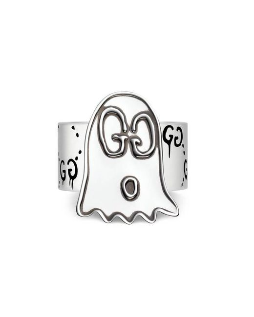 Gucci | Metallic Ghost Ring In Silver | Lyst