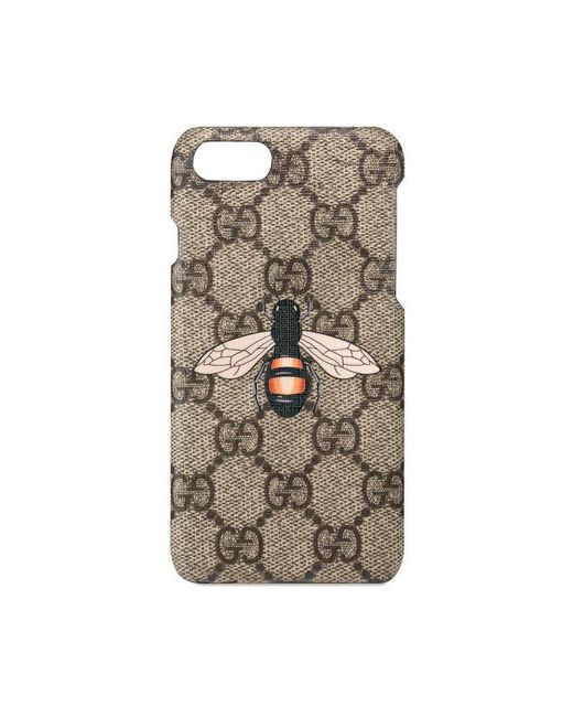 gucci bee print iphone 7 case lyst. Black Bedroom Furniture Sets. Home Design Ideas