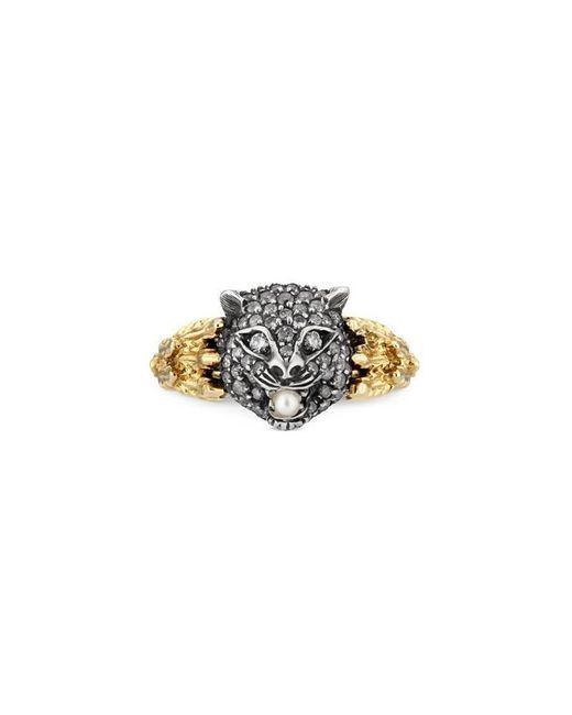 Gucci - Metallic Le Marché Des Merveilles Ring - Lyst