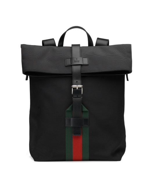 Gucci - Black Techno Canvas Backpack for Men - Lyst