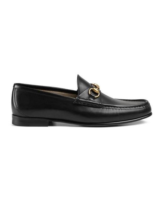 Gucci - Black 1953 Horsebit Leather Loafer for Men - Lyst