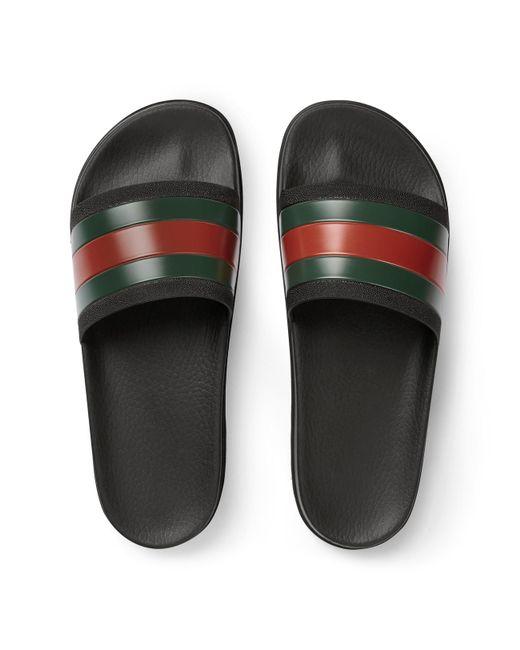 32c1678f4343cc Lyst - Gucci Web Slide Sandal for Men