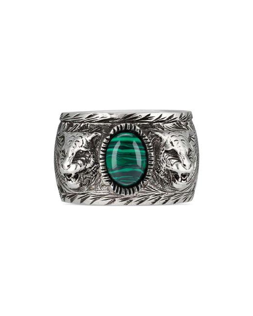 Gucci - Metallic Garden Ring In Silver - Lyst