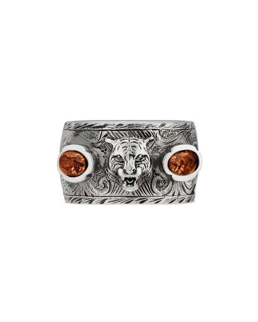 Gucci   Metallic Garden Ring In Silver for Men   Lyst