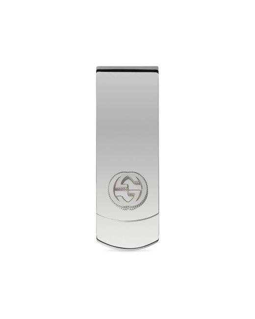 Gucci - Multicolor Money Clip In Silver With Interlocking G for Men - Lyst