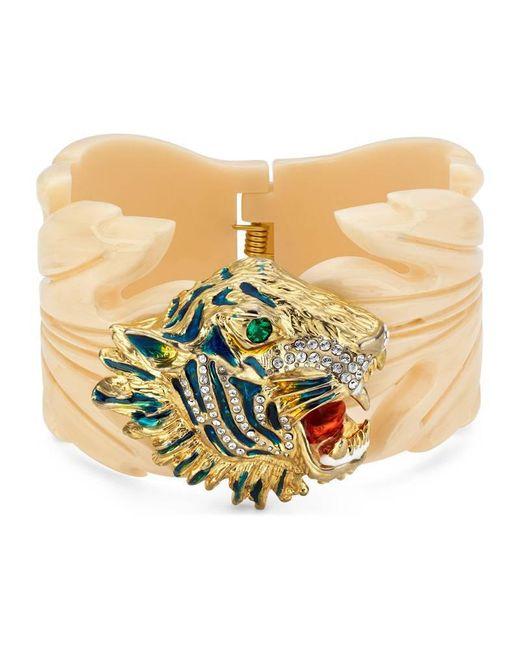 Gucci - Multicolor Rajah Resin Leaf Bracelet - Lyst