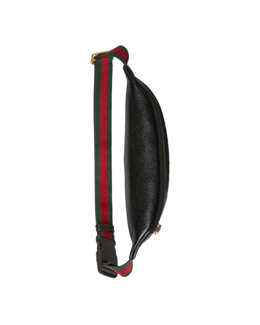 06a4a6633 ... Gucci - Black Print Small Belt Bag - Lyst ...
