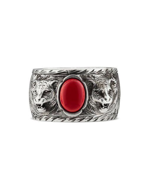 Gucci | Metallic Garden Ring In Silver for Men | Lyst