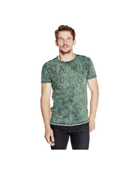 Guess | Gray Gunnarson Washed Tee for Men | Lyst