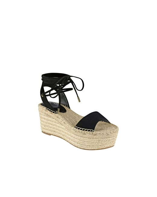 Guess - Black Ronisa Espadrille Wedges - Lyst