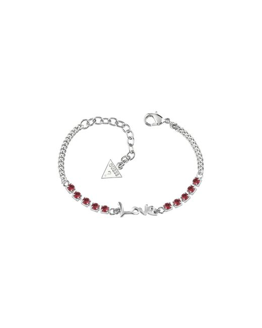 Guess | Metallic Heart  Soul Bracelet | Lyst