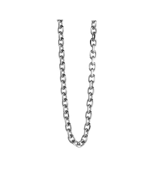 Guess | Metallic Unchained Steel Necklace for Men | Lyst